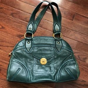 Marc by Marc Jacobs Teal Green Leather Satchel